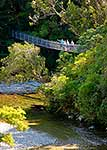 Kaitoke swingbridge, Upper Hutt