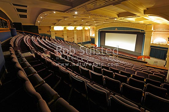 The Embassy Theatre Interior In Courtney Place Venue For
