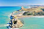 Castlepoint lighthouse aerial
