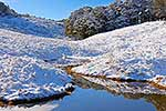 Canaan Downs in Snow, Takaka Hill