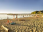 Days Bay beach, Hutt City