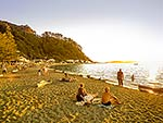 Days Bay beach sunset, Hutt City
