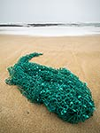 Trawl net washed ashore