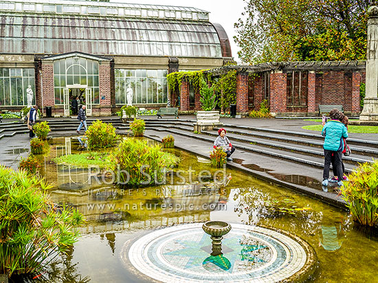 The winter garden at the auckland domain opened in 1913 for Landscape design west auckland