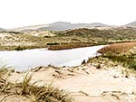 Dune lake Tauroa Peninsula, Northland