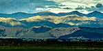 Northern Tararua Ranges from Foxton