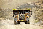 Macraes Oceana Gold mine truck