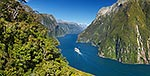 Cruise ship, Milford Sd, Fiordland