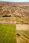 Dairy farms, Omakau, Central Otago
