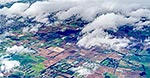 Pukekohe aerial, South Auckland