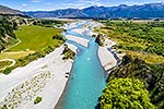 Waiau River, braided river bed, Hanmer