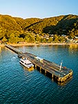 Days Bay wharf and ferry, Lower Hutt