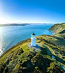 Pencarrow head light, Wellington harbour