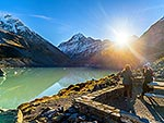 Aoraki Mt Cook and Hooker Valley walk