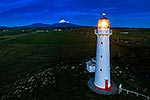Cape Egmont light and Mt Taranaki