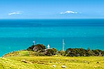 Baring Head lighthose, Cook Strait and South Is.