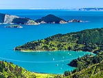 Port Underwood and Oyster Bay, Marlborough