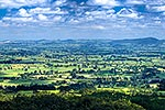 Waikato plains from the Kaimais