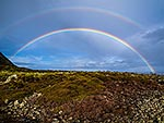 Double Rainbow, Turakirae Head, Wgtn