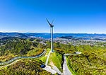 Wellington's Brooklyn Hill wind turbine