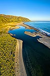 Wainuiomata River mouth, Baring Head