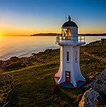 Baring Head lighthouse, Wellington