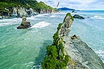 Motukiekie Rocks, Punakaiki Coast