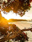 Coromandel sunset, Otama Beach