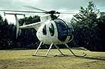 Hughes 500D helicopter