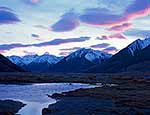 Southern Alps dawn, Dobson River