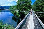 Swingbridge, Lake Waikaremoana